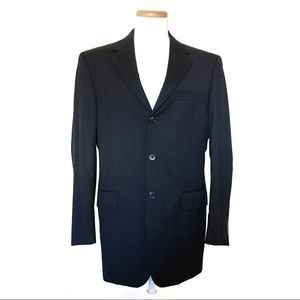 Jos. A Banks Black Wool Suit Jacket (38R)